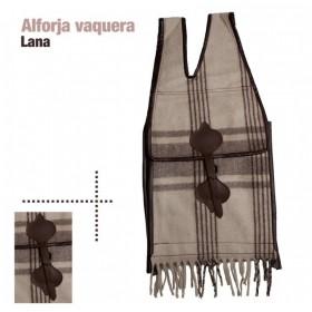 ALFORJA VAQUERA LANA