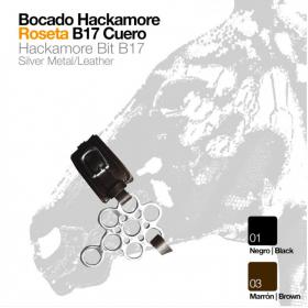 BOCADO HACKAMORE ROSETA B17...