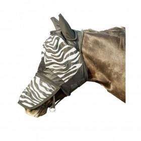 Máscara anti-moscas -Zebra-